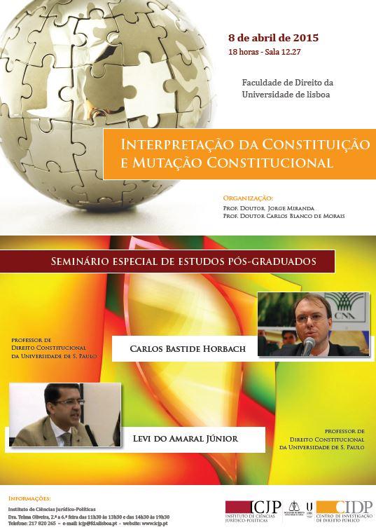 Cartaz - 8 abril - Interpretacao Constituicao