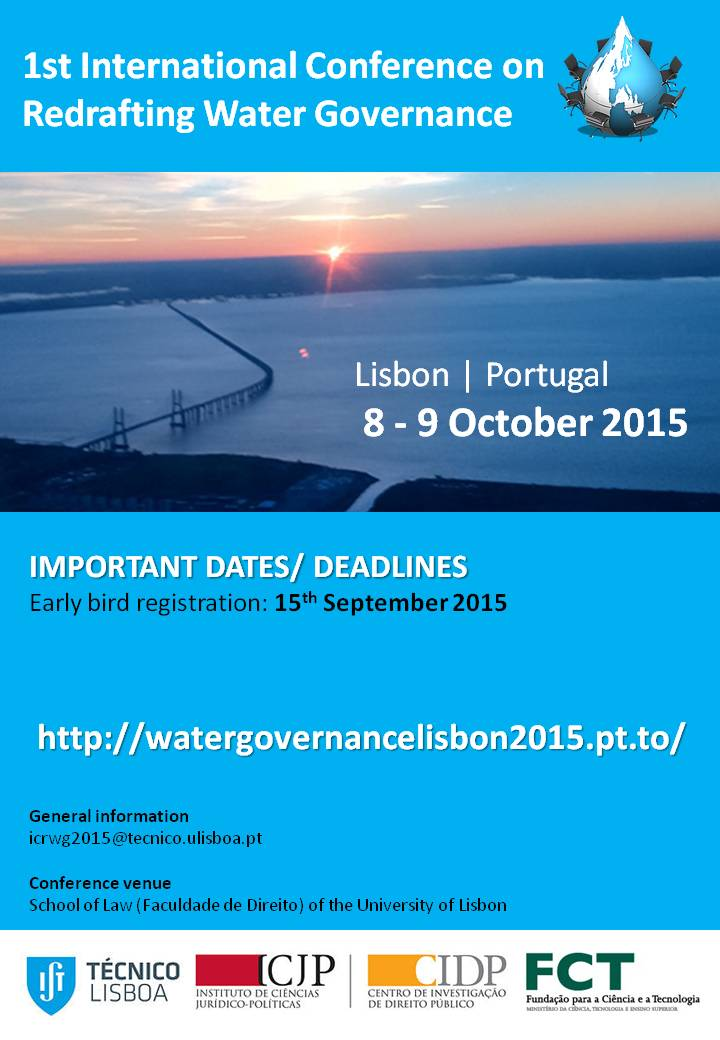 EN - Cartaz - water Governance