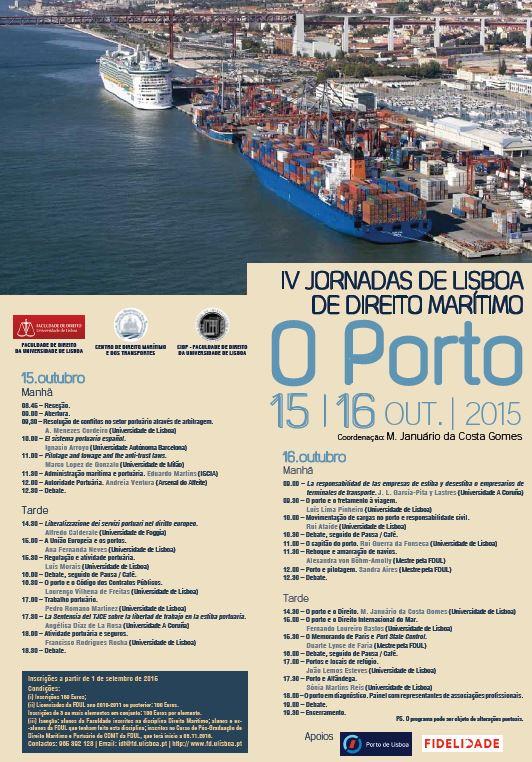 Cartar - image - IV jornadas Dto Maritimo