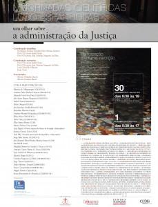 Cartaz IV Jornadas _olhar sobre adm justica