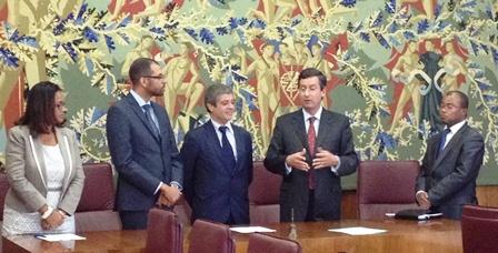 Protocolo de cooperação | FDUL e Presidência do Conselho de Ministros de Cabo Verde