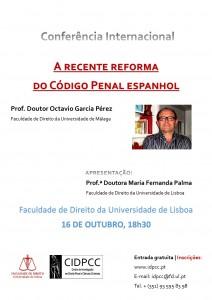 cartaz 16 outubro Octavio Garcia Perez