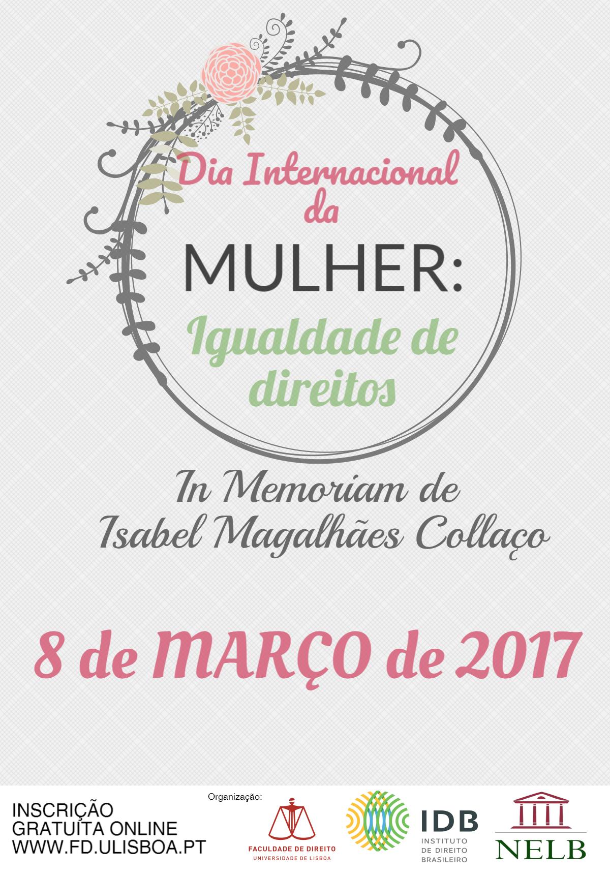 """Encontro """"Dia Internacional da Mulher: igualdade de direitos"""""""