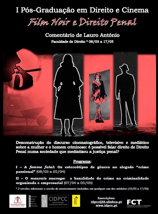 I Curso Pós-Graduado em Direito e Cinema – O filme negro e o Direito Penal