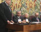 Medalha de Honra ao Mérito Juíz Aluiz Tenório Brito atribuída pela Escola Judicial de Pernambuco (ESMAPE) ao Diretor da FDUL, Prof. Doutor Pedro Romano Martinez