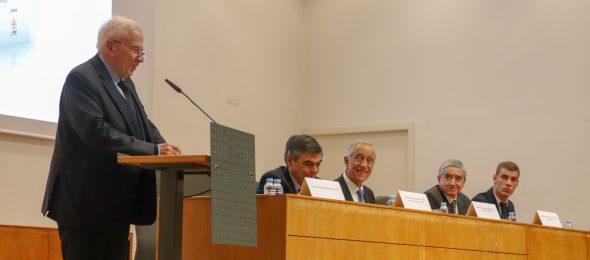 """Apresentação da obra """"A Europa em tempo de incerteza"""" do Prof. Doutor Paulo de Pitta e Cunha"""