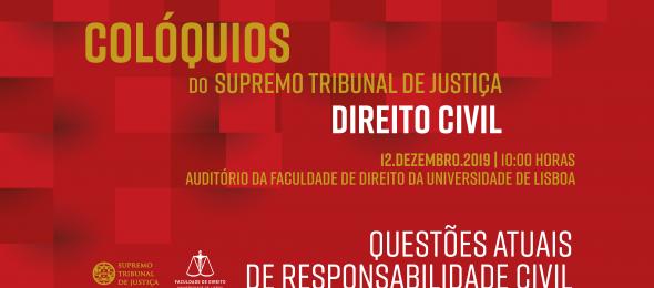 Colóquios do Supremo Tribunal de Justiça – Direito Civil | 12 dezembro 2019